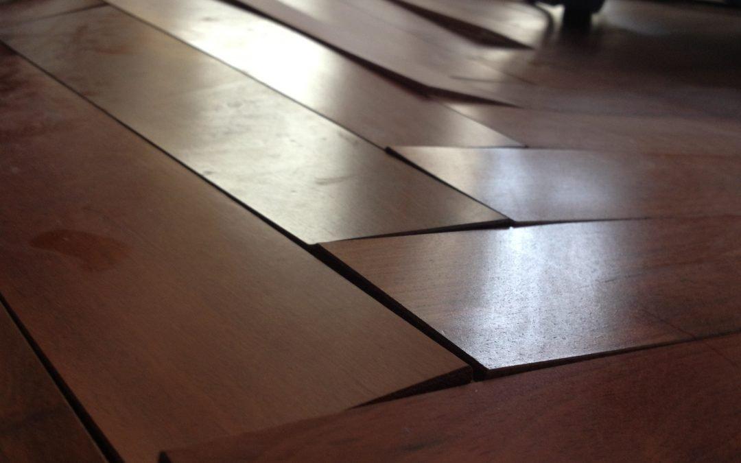 Water Damaged Engineered Wood Floor